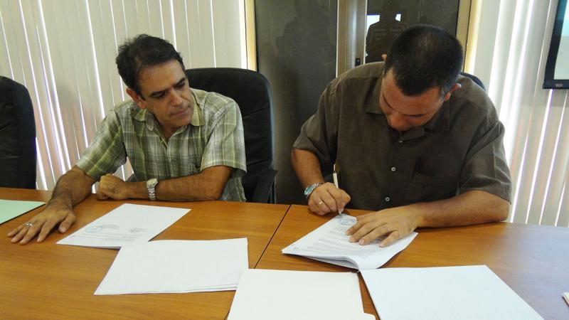 Firma del contrato para el desarrollo del Sistema de Ventanilla Única de la Zona Especial de Desarrollo Mariel.