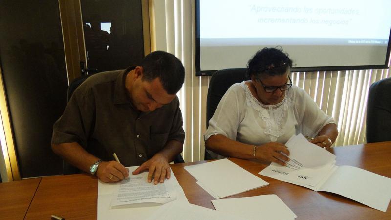 Firma de la Oferta comercial para el desarrollo del Sistema de Ventanilla Única de la Zona Especial de Desarrollo Mariel.