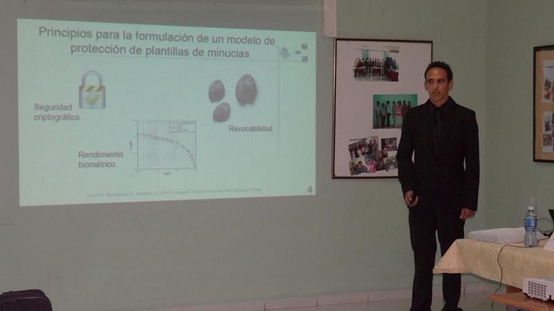 Ramón Santana Fernández egresó del Programa Especial de Formación Científica en Informática
