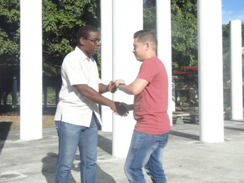 Trabajadores de la Universidad recibieron el carné que los acredita como militantes del Partido.