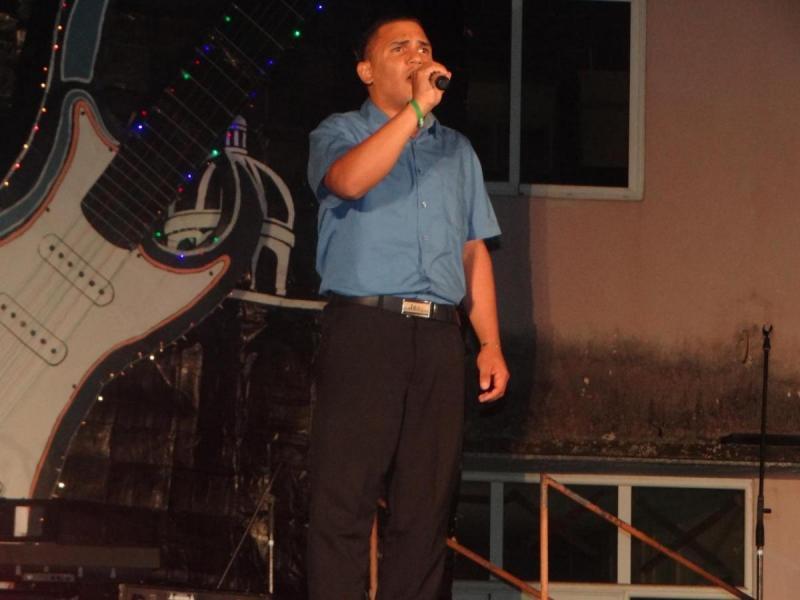 Yunior Arrebola realizó una de las mejores interpretaciones de la velada.
