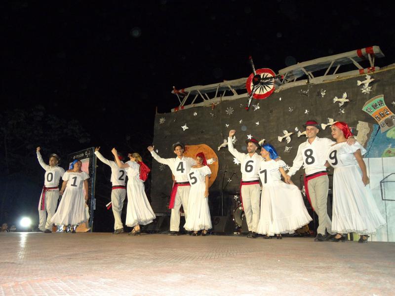 La danza fue la gran protagonista de la noche cultural de la Facultad 1.