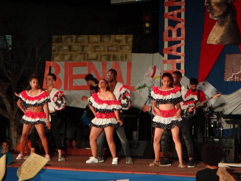 Varios géneros danzarios estuvieron presente en la velada cultural de la 4.