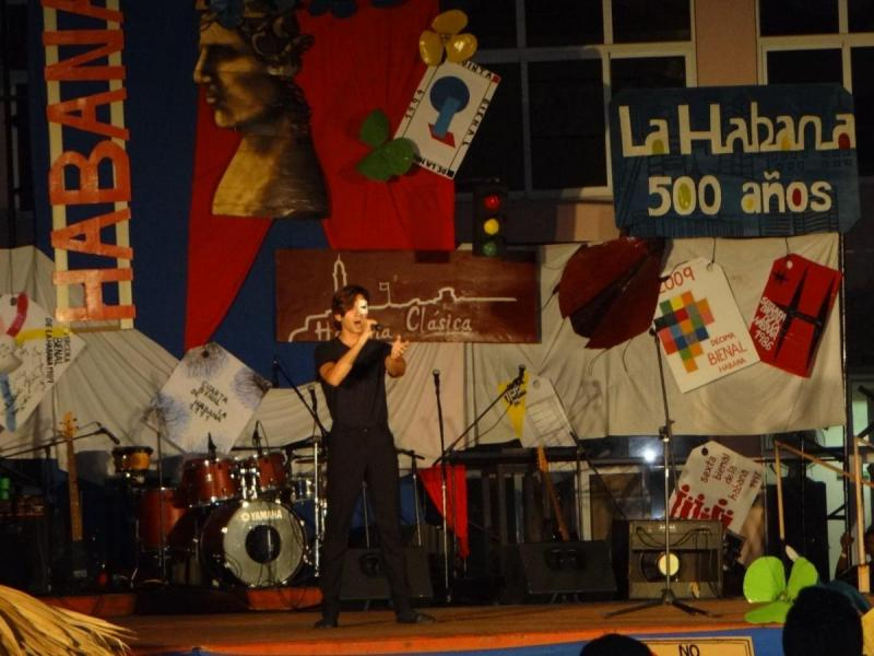 La música presente en el Festival de Artistas Aficionados de la FEU.