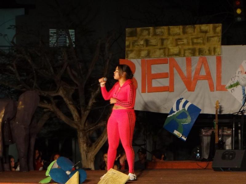 Angely Hernández destacó entre lo mejor de la especialidad de música en la gala.