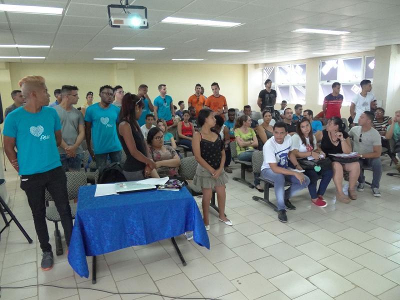 En la plenaria se seleccionaron a 35 estudiantes que representarán a la Facultad 2 en el Congreso de la Universidad.
