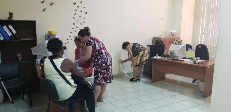Especialistas de área de Capital Humano durante su jornada trabajo.