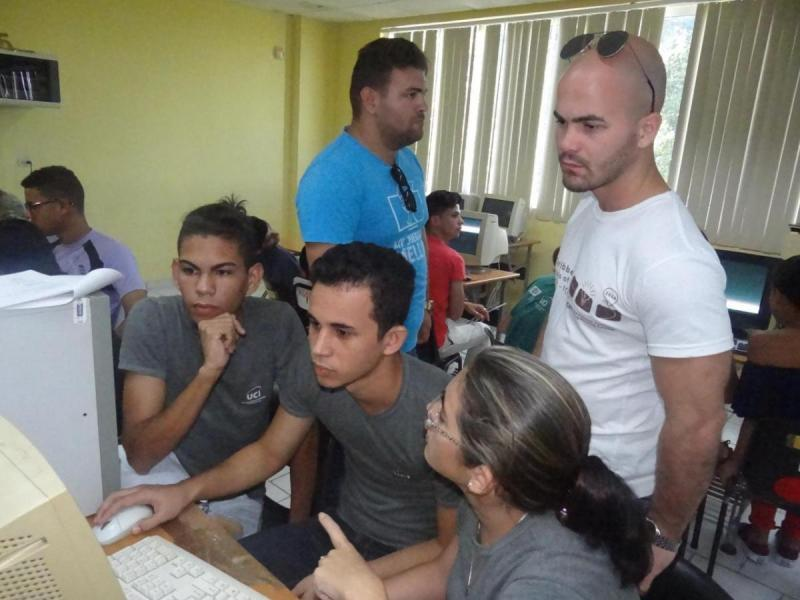 La gran fiesta de la Final Nacional Caribeña de la Programación Competitiva en la UCI.