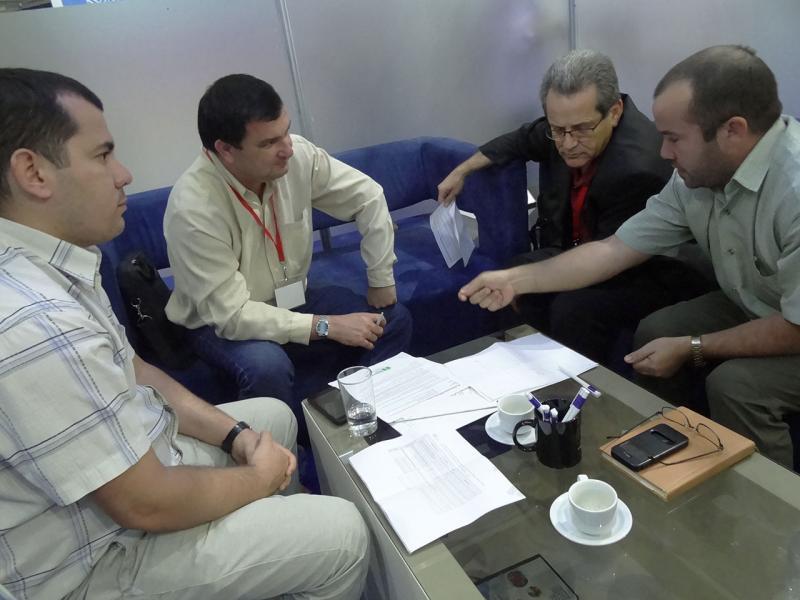 Reunión de trabajo con Antex.