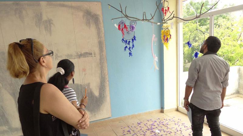 Festival Provincial de Artistas Aficionados en Artes Visuales.