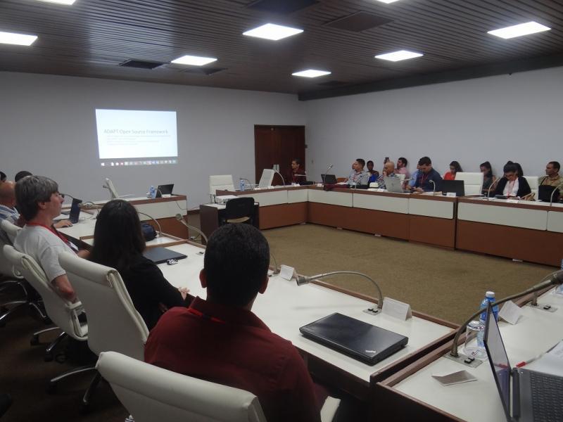 VIII Taller Internacional de Tecnologías de Software Libre y Código Abierto que sesiona durante los días 20 y 21 de marzo en el Palacio de las Convenciones.