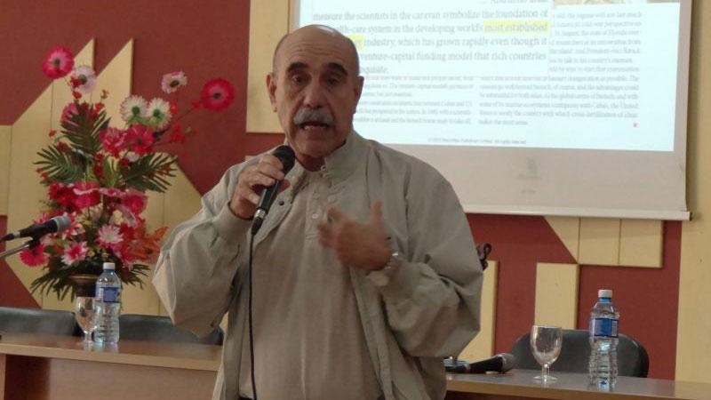 Dr. C. Rolando Pérez, BioCubaFarma