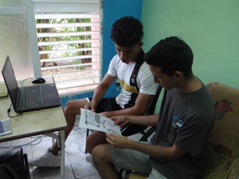 Los estudiantes de la Universidad se informan sobre la enfermedad respiratoria