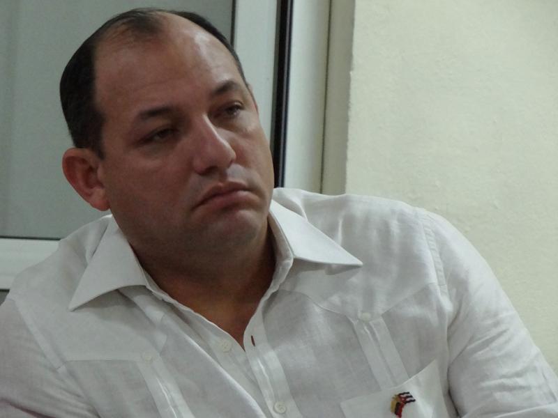Hugbel Roa, ministro del Poder Popular de Venezuela para la Educación Universitaria, Ciencia y Tecnología.