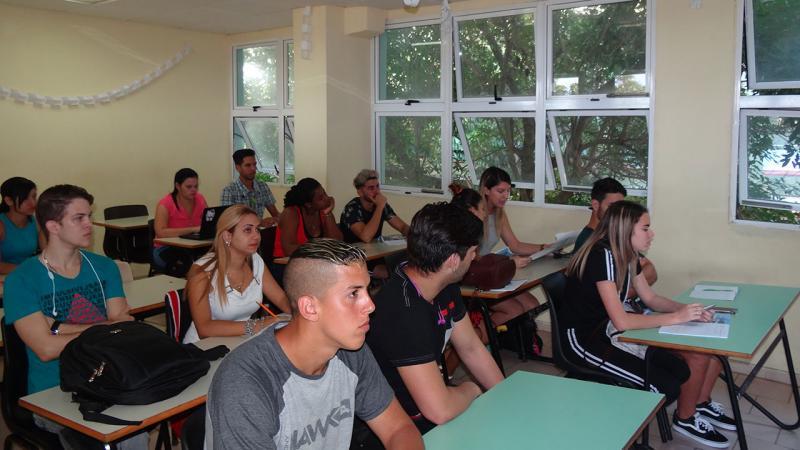 Los universitarios de la UCI reafirmaron #YoVotosí por Cuba