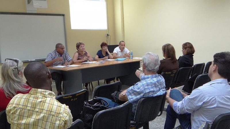 Intercambio con integrantes del Comité Académico de la Maestría de Calidad.