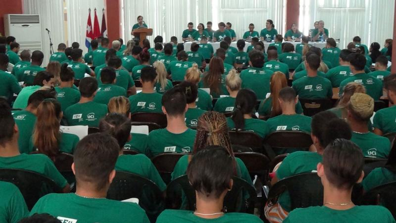 9no. Congreso de la FEU en la UCI