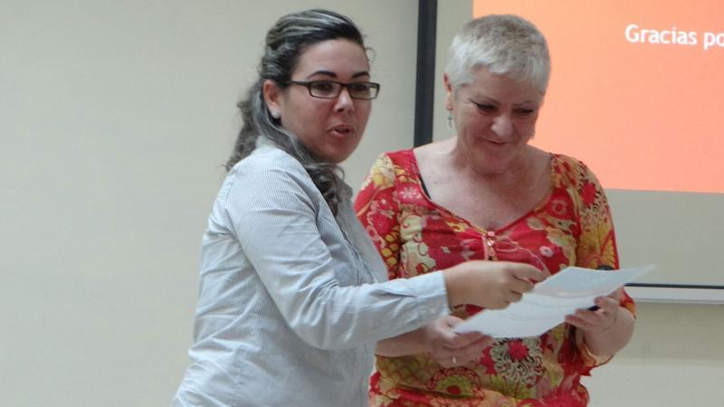 Reconocimiento a la Dra.C. Elba Gutiérrez Santiuste