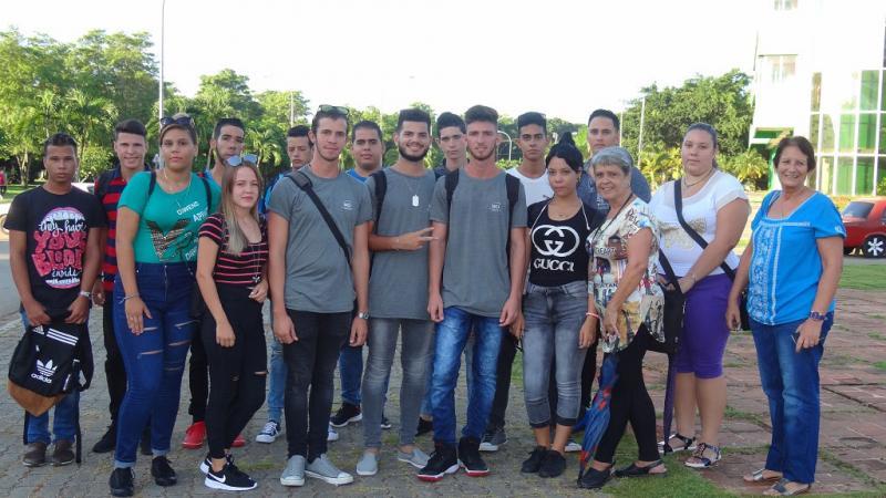 Estudiantes del grupo 2 de primer año, Bioinformática.