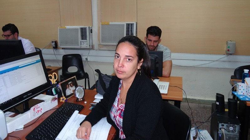 MSc. Aymara Marín Díaz, jefa del Departamento de Pruebas de la Dirección de Calidad de Software (Calisoft) de la UCI