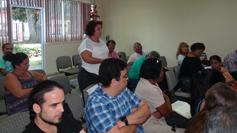 Trabajadores de ambos centros aportaron con sus criterios el desarrollo de este balance de trabajo UCI-BioCubaFarma.