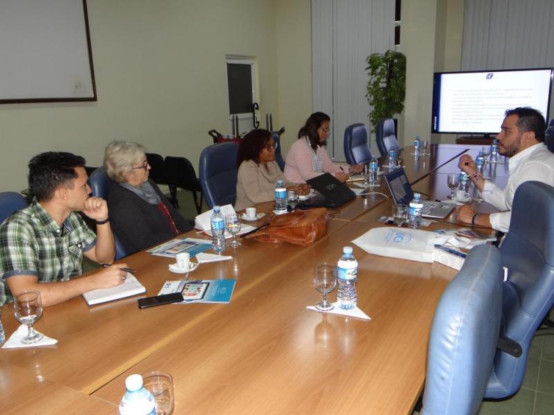 Dither Balderas Galindo resaltó que el propósito esencial de su visita es conocer de primera mano los resultados alcanzados por nuestra Universidad en las diferentes esferas