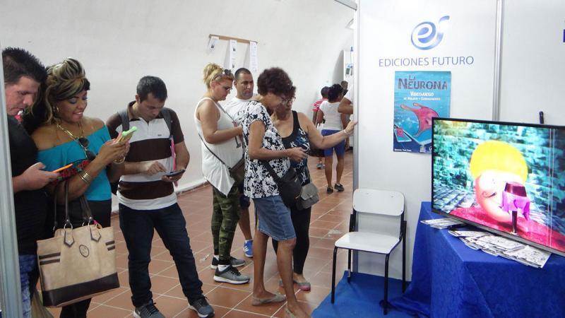 La UCI presente en la XXVII Feria Internacional del Libro de La Habana.
