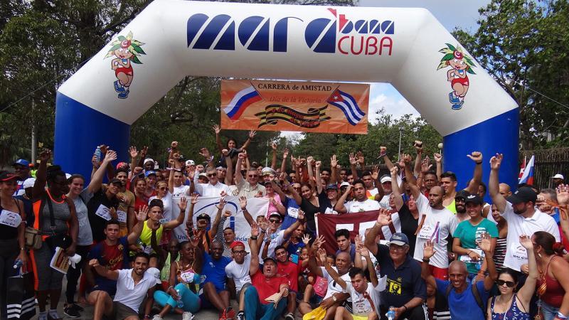 El excelentísimo señor Mijaíl Kamynin, embajador de Rusia en Cuba, intercambió con los representantes de la UCI.