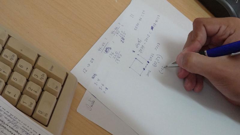 Los problemas versaron sobre la matemática elemental y temas básicos de la matemática universitaria.