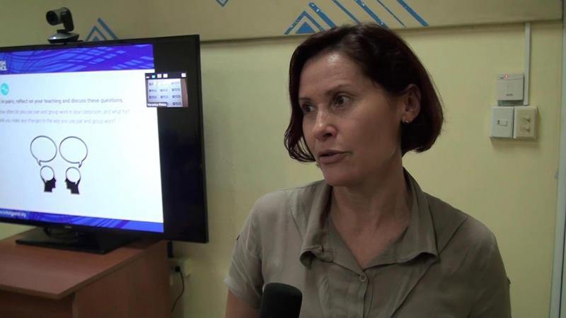 MSc. Tamara Gutiérrez Baffil, directora del Centro de Idiomas de la Universidad de Pinar del Río