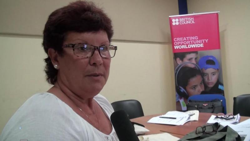 MSc. Clara Esther Gómez Gonzalvo, profesora de la Universidad de Cienfuegos