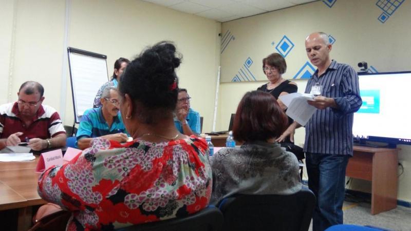 El Dr.C. Rivera Pérez agradeció a la UCI y a la Embajada Británica en Cuba por haber contribuido a materializar este resultado