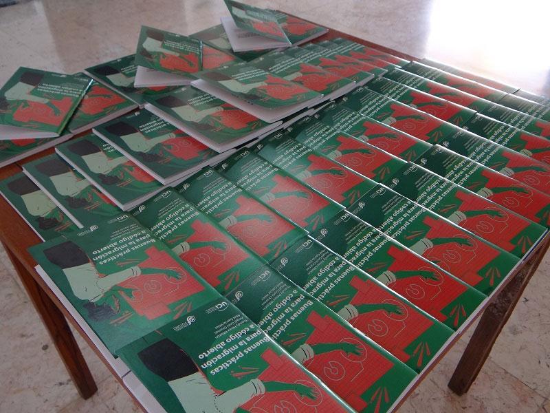 Ediciones Futuro presentó en la XXVIII Feria Internacional del Libro el título Buenas prácticas para la migración a código abierto.