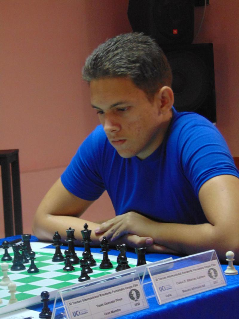 El Maestro Internacional Carlos Daniel Albornoz marcha al frente del torneo al término de la quinta ronda.