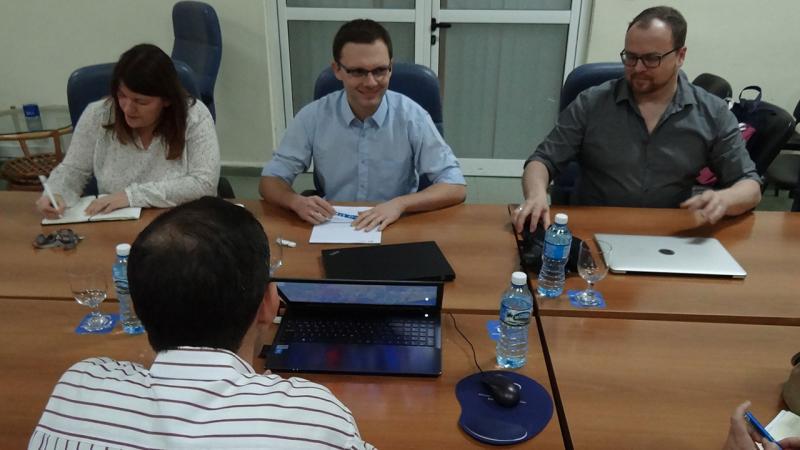 Durante el encuentro coincidieron en destacar el interés mutuo por conocer e identificar las áreas en las que pueden colaborar.