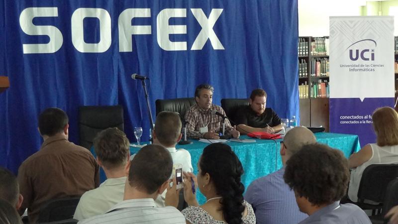 Wilfredo Gonzales Vidal, viceministro de Comunicaciones, abordó las líneas fundamentales de la política para la informatización de la sociedad cubana.