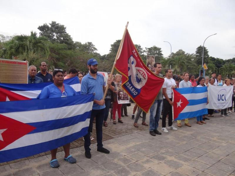 En cada área a donde llegó la Bandera XXI Congreso de la CTC, los trabajadores se reunieron para escuchar el compromiso de la masa trabajadora.