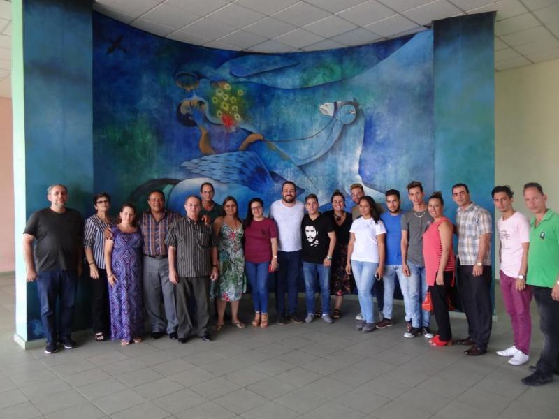 Visitaron la Universidad miembros del Movimiento de Trabajadores sin Techo y del Frente Pueblo Sin Medio.