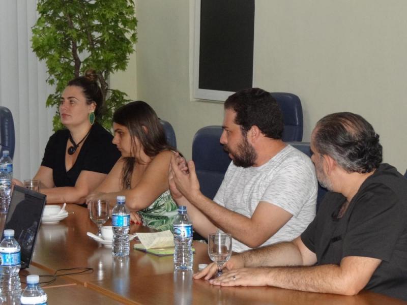 La delegación brasileña estuvo integrada por Guilherme Castro Boulos, Natalia Szermeta, Walfrido Jorge Warde Jr. y Danielle Beatrice Jorge Warde.