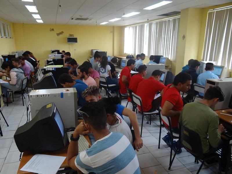 Concurso en los laboratorios de ACM-ICPC.