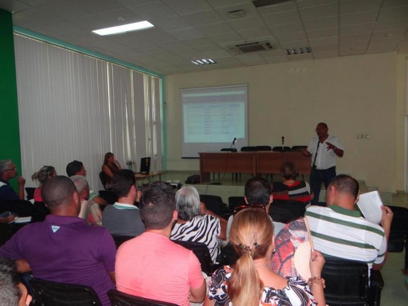 El Dr.C. José Ortíz Rojas comentó sobre el aseguramiento del nuevo curso escolar.