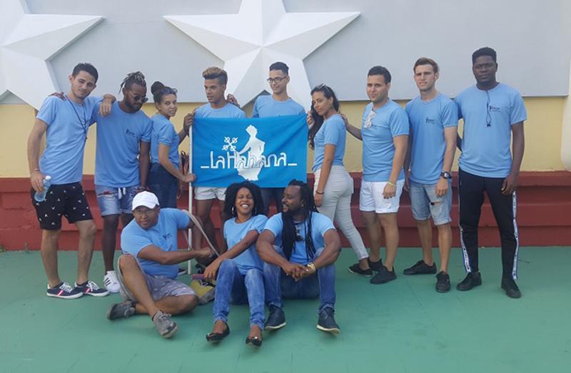 Delegación de Artistas Aficionados de la UCI en el Festival Nacional de Artistas Aficionados.
