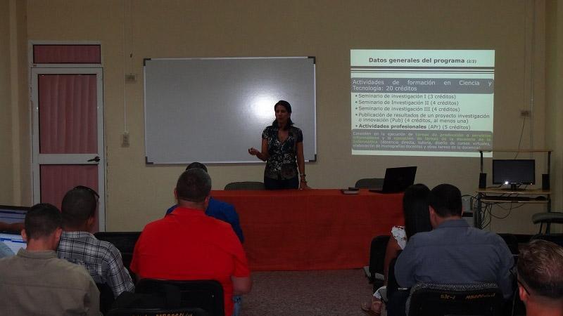 Miembros del comité académico, profesores, maestrantes y egresados de la Maestría en Informática Avanzada son partícipes en el fortalecimiento de este programa de formación.