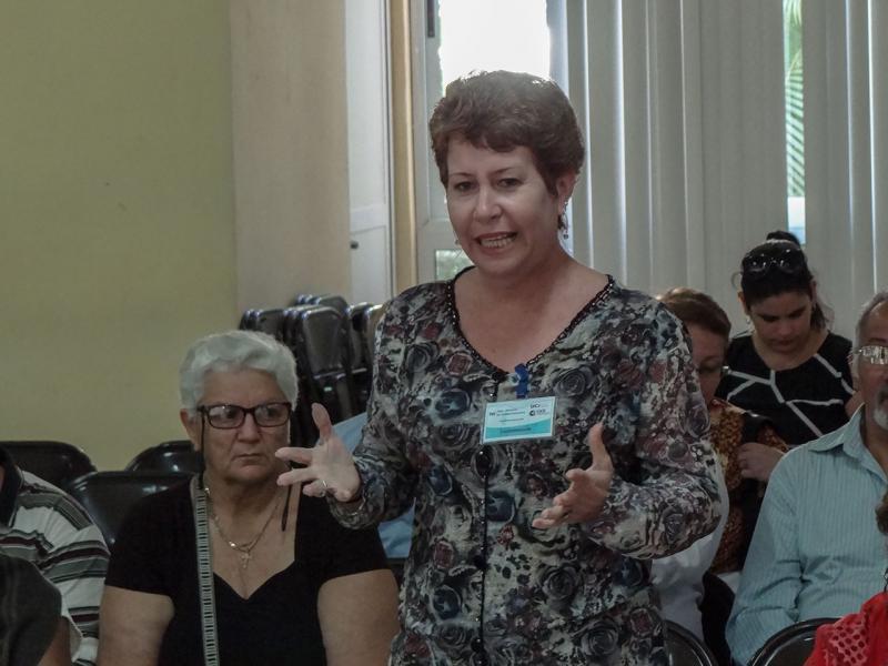 Representative from the Enrique José Varona University of Pedagogical Sciences of Havana.