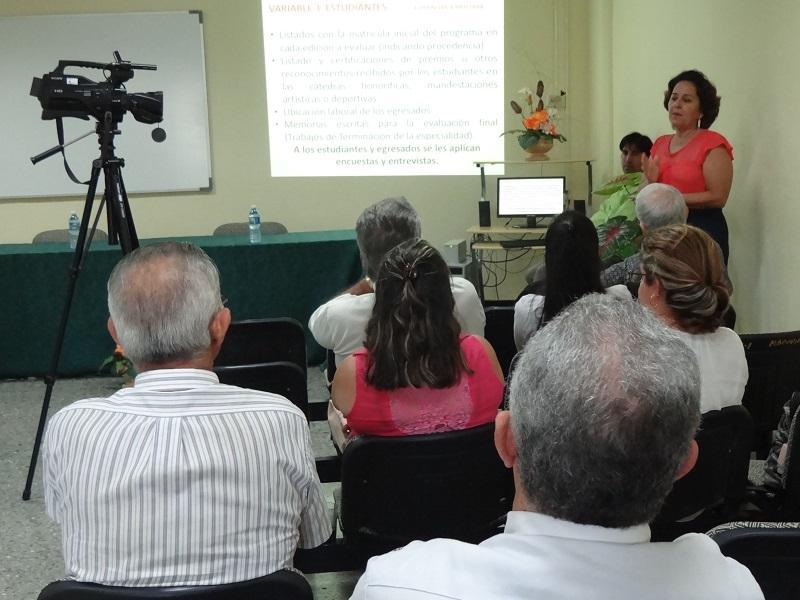 Taller sobre Acreditación de Programas académicos de posgrado.