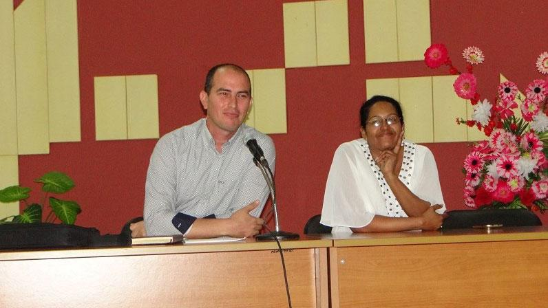 Dirigieron los debates la MSc. Niurvis Legrá Pérez, vicedecana de Formación y decana en funciones de la Facultad 1 y el MSc. Miguel Ángel Hernández de la Rosa, vicedecano de Investigación y Posgrado.