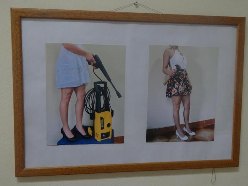 """Obras de la exposición """"El intolerable peso de un zapato"""""""