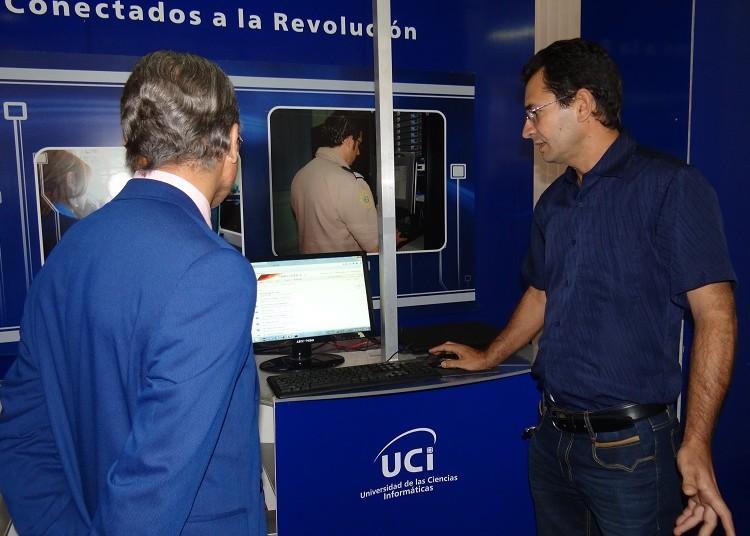 El director del Centro Ciged, Aurelio Antelo Collado, presentó el Sistema Gestor de Documentos administrativos EXCRIBA.