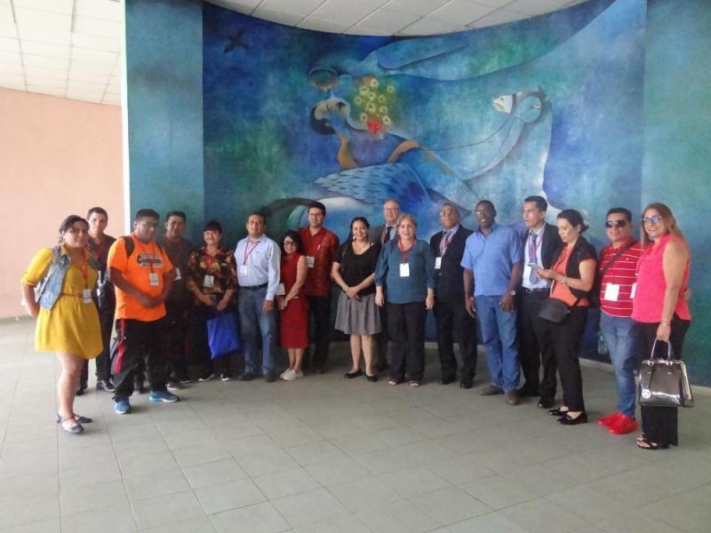 Delegados de Universidad 2020 visitaron la Universidad de las Ciencias Informáticas.