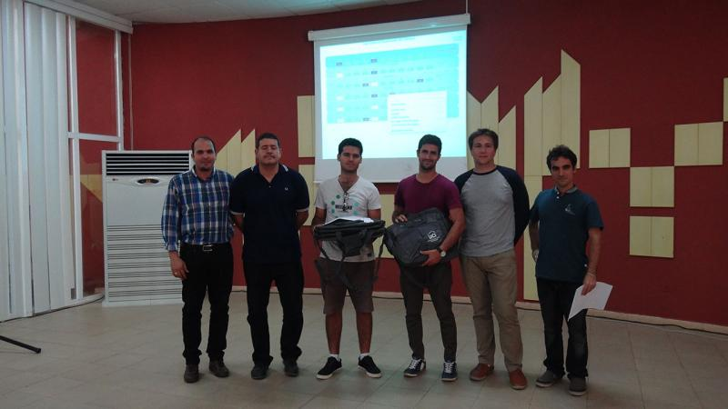 UH ++ team, current ACM-ICPC Caribbean champions and winners of the VIII Training Camp.